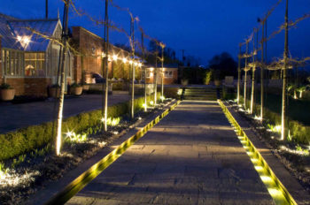 Exterior lighting - Garden path